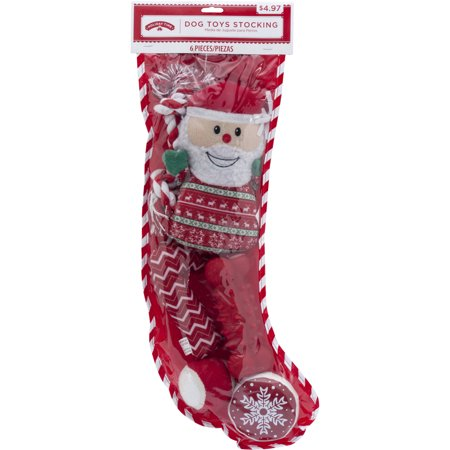 holiday dog toys stocking