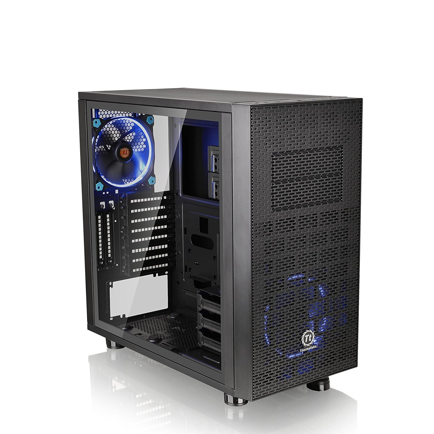 Thermaltake Core X31 Tempered Glass Mid Tower ATX Gaming Desktop Chassis - CA-1B6-00F1WN-04