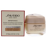 ($70 Value) Shiseido Benefiance Wrinkle Smoothing Face Cream Enriched, 1.7 Oz
