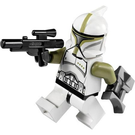 Lego Minifigure   Star Wars   Clone Trooper Sergeant With Blaster Gun   Binoculars