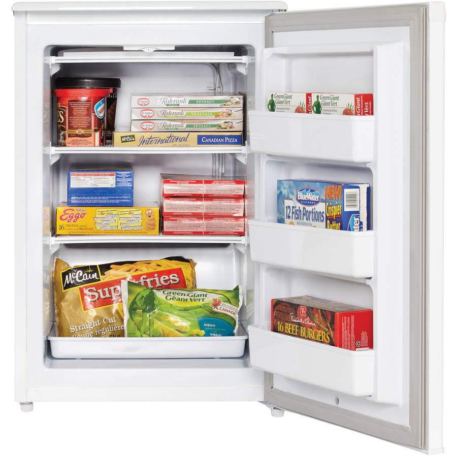 Danby Designer 4.3 cu ft Upright Freezer, White