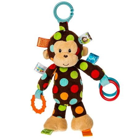 Taggies Dazzle Dots Activity Toy, Monkey (Puppy Monkey)
