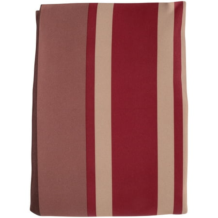 Striped Drapery Panel (Mainstays Poly Duck Stripe Curtain Panel, Set of)