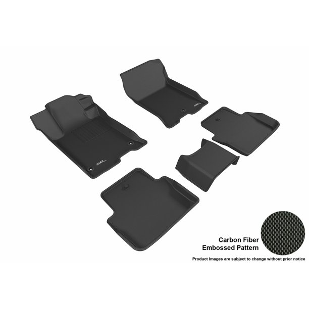 3D MAXpider 2015-2017 Acura TLX Front & Second Row Set All