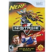 Nerf N-Strike Double Blast Bundle- Nintendo Wii (Refurbished)
