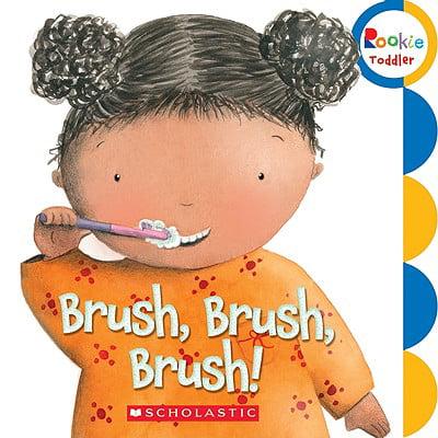 Brush Brush Brush (Board Book)