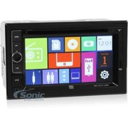 "Dual Dv604i Car Dvd Player - 6.2"" Touchscreen Led-lcd - 72 W Rms - Double Din - 4 - Dvd+rw, Dvd-rw, Cd-rw - Dvd Video - Cd-da, Mp3, Wma - Am, Fm - Microsd Card, Microsdhc - Usb - Auxiliary (dv604i)"