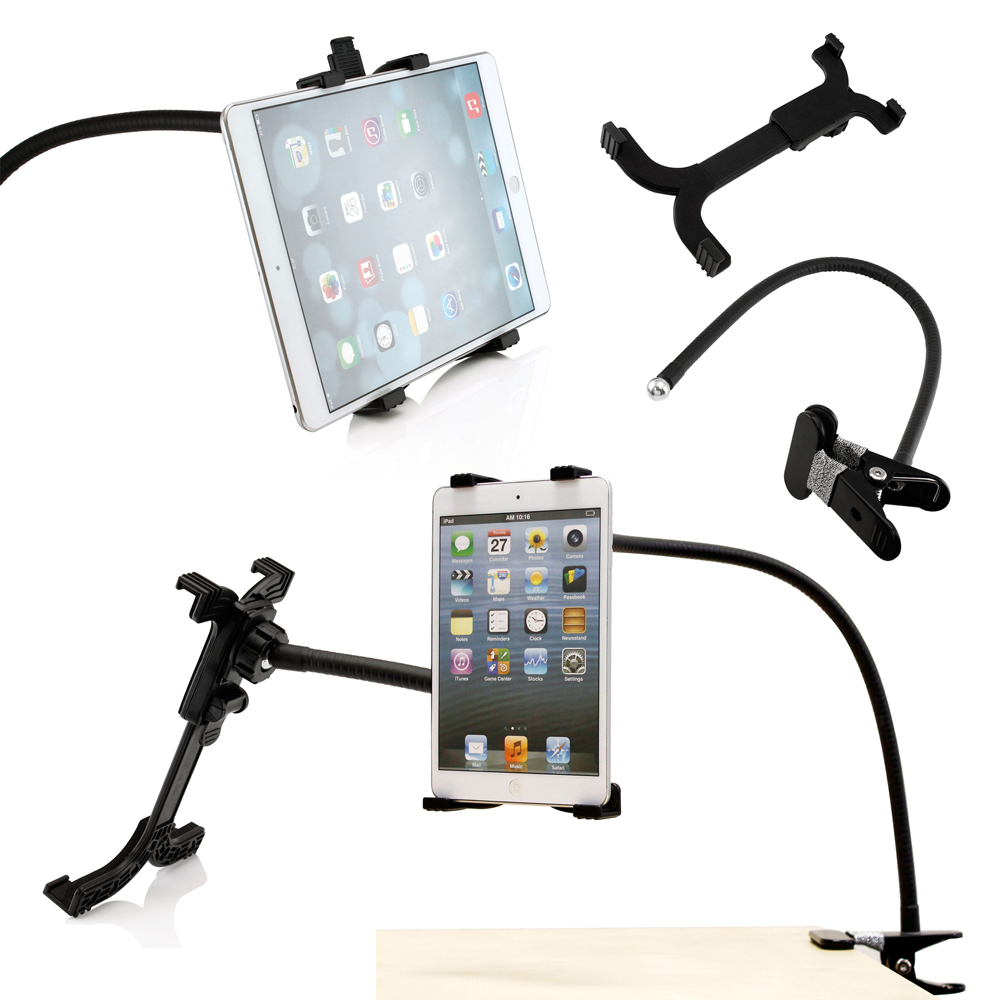360 Rotating Desktop Stand Lazy Bed Tablet Holder Mount for iPad 4 Air 5 Samsung iPad Mini, Nexus, Android Tablet, GPS