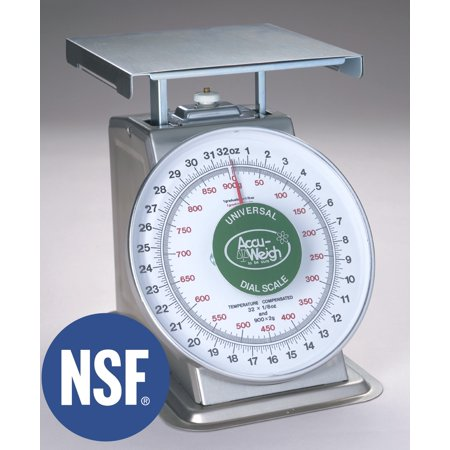 Yamato, SM(N)-40PK, Dual Marked Mechanical Portion Weighing Scale, 40 lb x 2 oz, NSF Certified