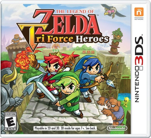 The Legend of Zelda: Tri-Force Heroes, Nintendo, Nintendo 3DS, 045496743345