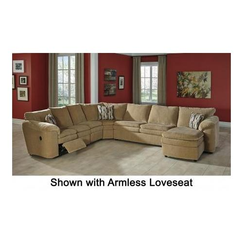 Signature Design by Ashley  Coats 44100-17-71-77-46-84 5-Piece Sectional Sofa with Right Arm Corner Chaise  Armless