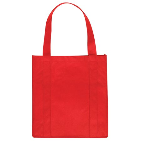 Wholesale 12 x OTTO Non-Woven Polypropylene Grocery Tote Bag - Red - (12 Pcs)](Wholesale Totes)