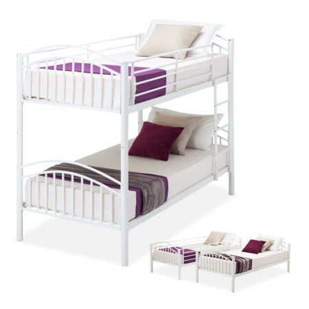 Mecor Bed Frame Convertible Twin Over Twin Metal Frames or 2 Frames ...