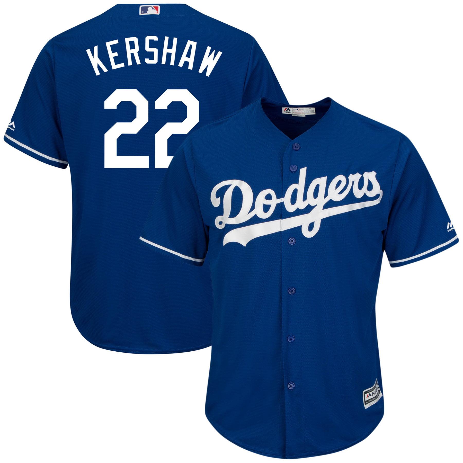 1a026a50 Clayton Kershaw Los Angeles Dodgers Majestic Big & Tall Alternate Cool Base  Replica Player Jersey - Royal - Walmart.com