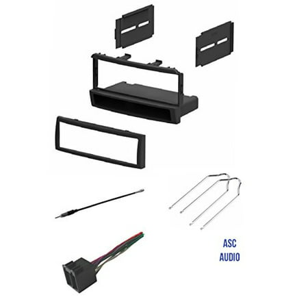 asc car stereo dash kit wire harness antenna adapter. Black Bedroom Furniture Sets. Home Design Ideas