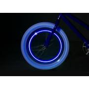Brightz Orbit Blue LED Bicycle Spoke Clip Lights, 2 Pack