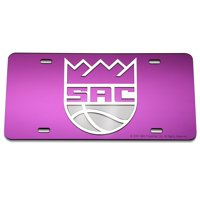 Sacramento Kings WinCraft Crystal Mirror License Plate