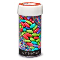Great Value Sprinkle Mix, Holiday Lights & Nonpareils, 2.46 oz