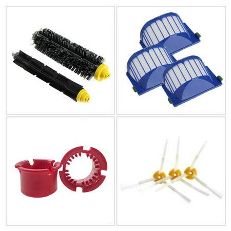 Balayeuse en plastique de brosse de filtre d'accessoires d'aspirateur de robot de balayage pour la série d'iRobot Roomba 600 - image 1 de 9