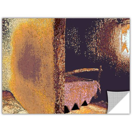 Dean Uhlinger Fred And Wilmas Bedroom, Art Appeelz Removable Wall Art Graphic - Fred And Wilma