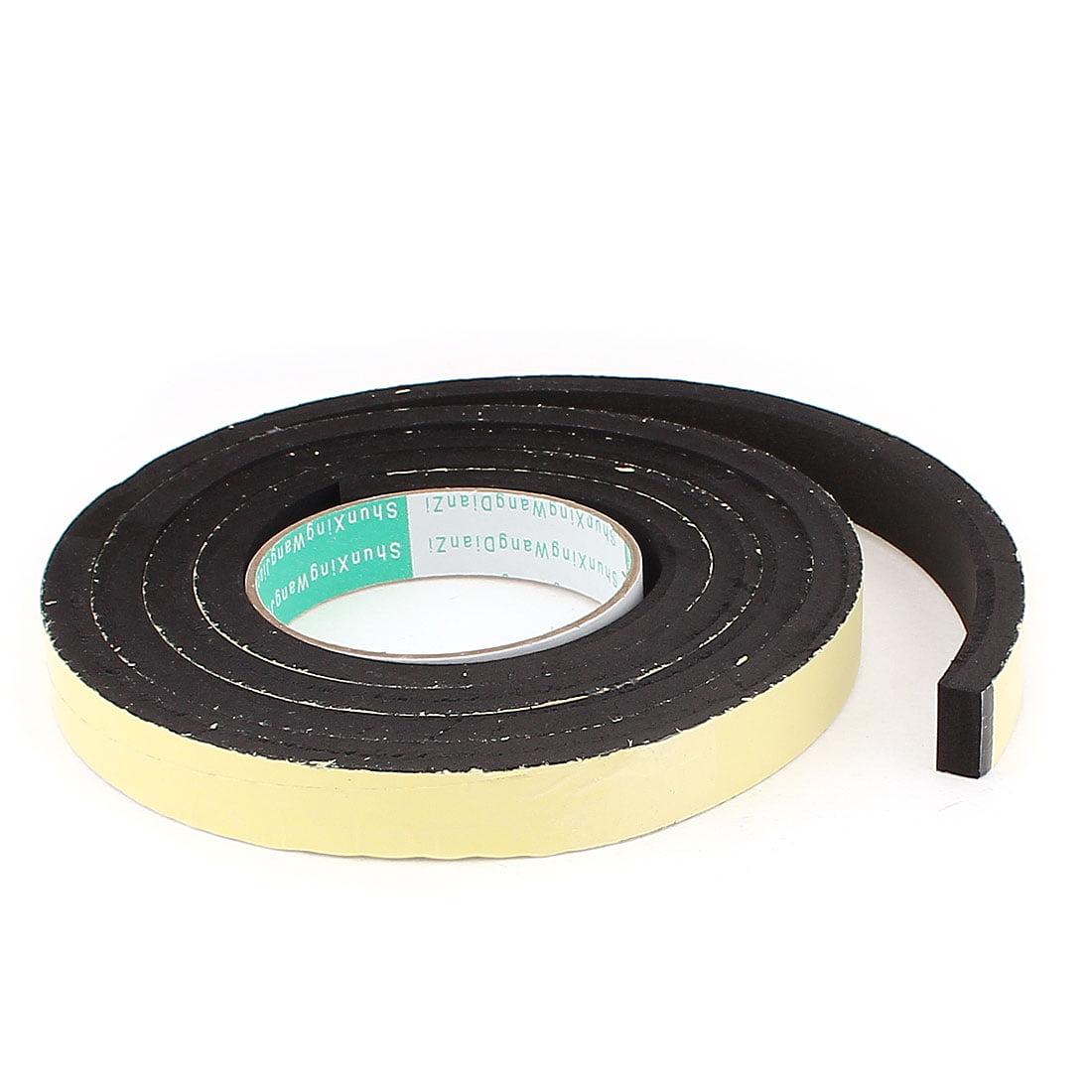 2M Long 20mm x 10mm Door Window Single Side Adhesive Foam Sealing Tape Strip