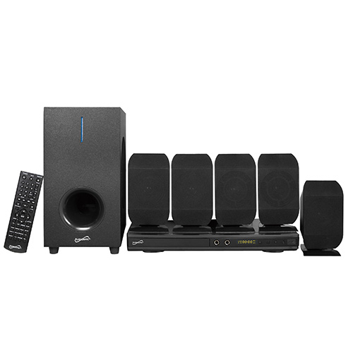 5.1 Channel DVD Home Theater System w  Karaoke Function by Coleman