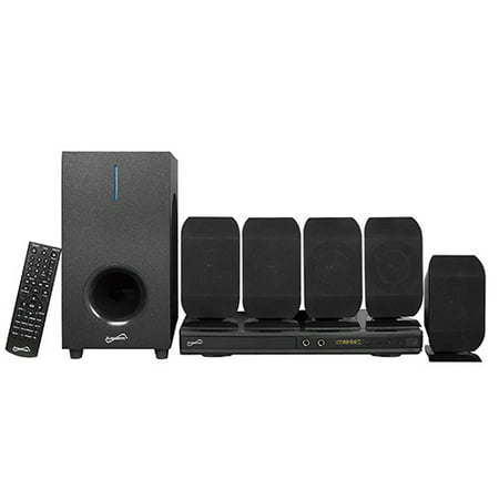 5.1 Channel DVD Home Theater System w/ Karaoke (Best 2.1 Home Theater System Cnet)