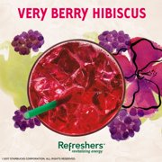 Starbucks Refreshers Drink Mix Berry Hibiscus 70 Oz 6 Packets 1
