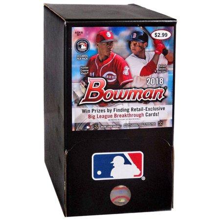 Mlb 2018 Bowman Baseball Trading Card Gravity Feed Box