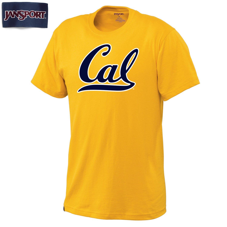 UC Berkeley Bold script Cal Jansport Men's t-Shirt-Gold