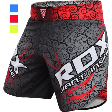 Sprawl Fight Shorts (RDX MMA Shorts MSS Boxing Training Mens Short Fight Grappling Green Blue Red )