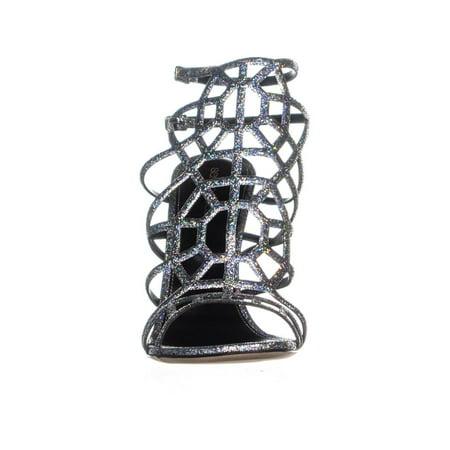 Sandales Pour Femmes Sergio Rossi A63130, Grise - image 3 de 6