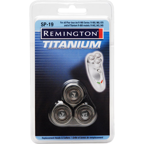 Remington SP-19 Titanium Microflex Heads & Cutters