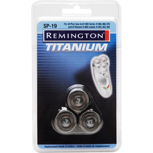 Remington SP-19 Titanium Microflex Heads & Cutters