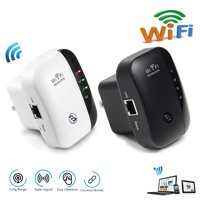 300Mbps Wifi Repeater Wireless-N 802.11 AP Router Extender Signal Range Booster