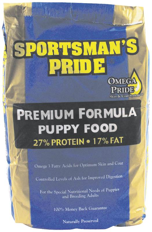 Sunshine Mills 10120 Sportsman's Pride Puppy Food, Premium Formula, 25 Lb by Sunshine Mills