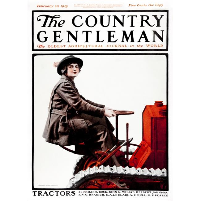 Posterazzi DPI12272304 Cover of Country Gentleman Agricultural Magazine From The Early 20th Century Poster Print - 13 x 18 in. - image 1 of 1