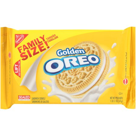 Nabisco Oreo Golden Sandwich Cookies  19 1 Oz