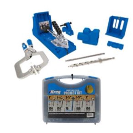 Kreg Jig K4 Master System + Screw Kit Bundle