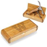 Picnic Time 868-00-505-623-0 University of Washington Huskies Engraved Gift Box Cork Screw, Natural
