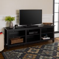 Deals on Manor Park Wood TV Media Storage Stand for TVs up to 78-inch