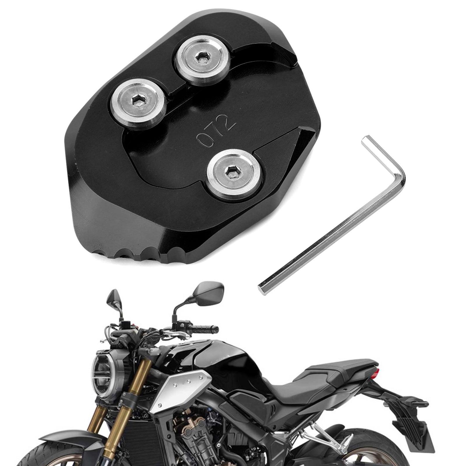 Motorbike Aluminum Alloy Side Stand Extender Enlarger Kickstand for Honda