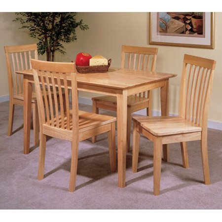 Natural Breakfast Table (K and B Furniture Co INC Natural Finish Wood Dining Table )