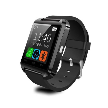 Smart Watch WristWatch U8 Watch for 4/4S/5/5S S4/Note 2/Note 3 HTC Android Phone Smartphones Anti-lost Alarm Function Touch Screen Sync SMS Call Music & Camera Remote Control