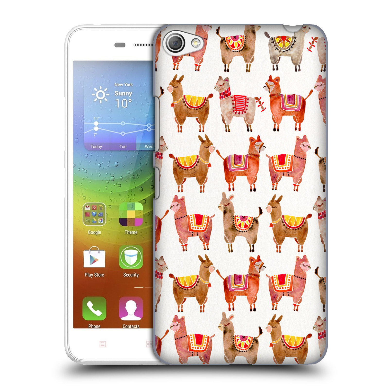 OFFICIAL CAT COQUILLETTE ANIMALS HARD BACK CASE FOR LENOVO PHONES
