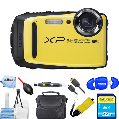 UNASSIGNED Fujifilm FinePix XP90 Digital Camera (Yellow) ...