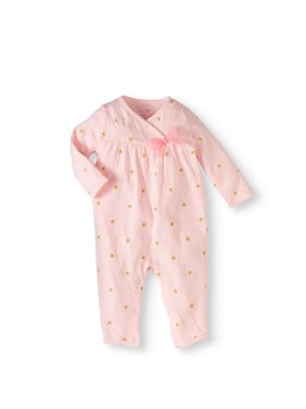 12706c1d7d9 Product Image Newborn Girl Footless Coverall One Piece