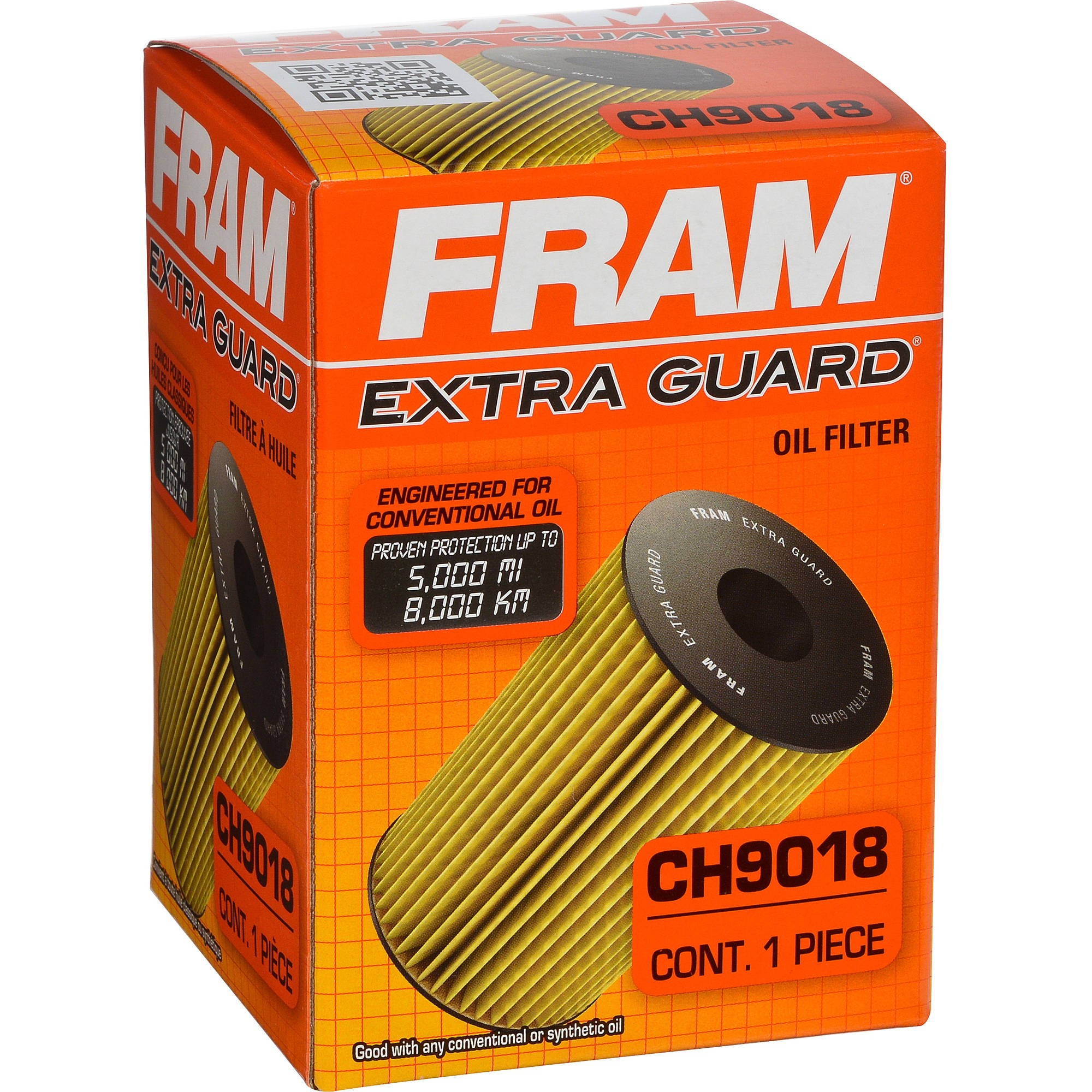 Fram CH9018 Extra Guard Passenger Car Cartridge Oil Filter