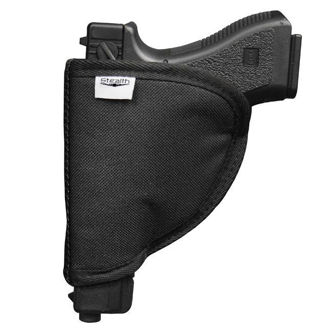 Stealth Velcro Pistol Holster Compact Handgun Storage Gun Safe