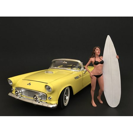 Surfer Casey Figure For 1:18 Scale Models by American Diorama - image 1 de 1